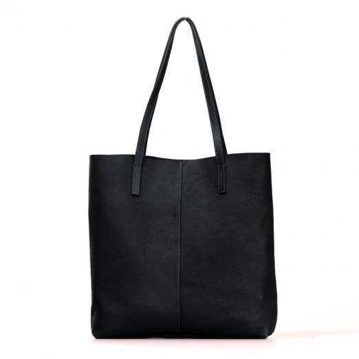 O MY BAG Georgia black soft grain leather