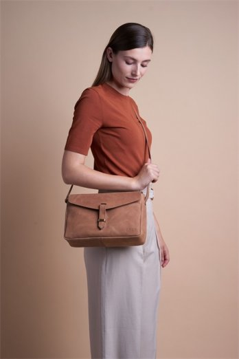 O my bag Ally maxi camel