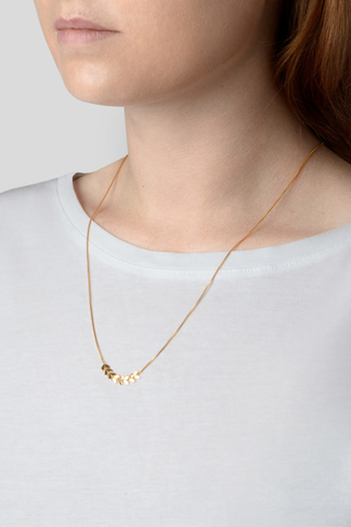 Syster P Layers simone necklace gold