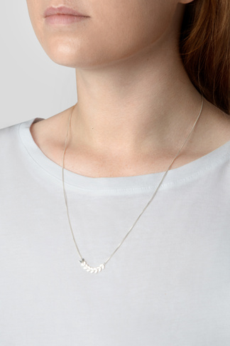 Syster P Layers simone necklace silver