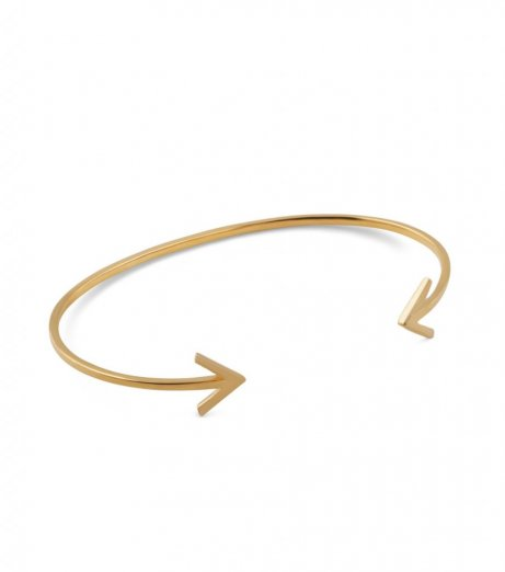 Syster P bangle arrow gold
