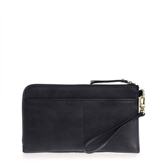 O my bag Travel Pouch Black Classic Leather