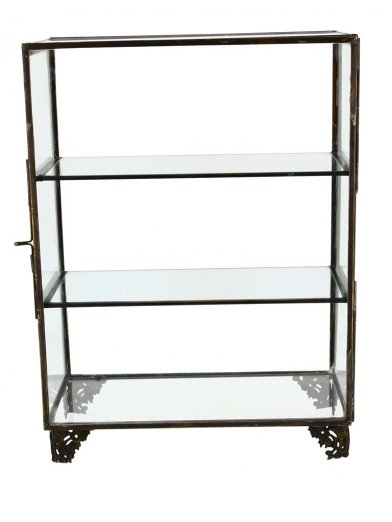 Small glass shelf