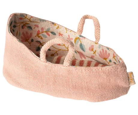 Mailed Carry cot misty rose