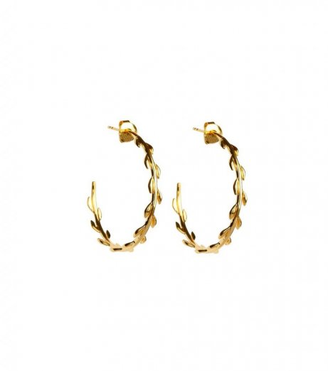 Syster p cleopatra hoops guld