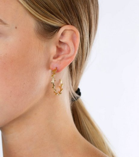 Syster p cleopatra hoops gold