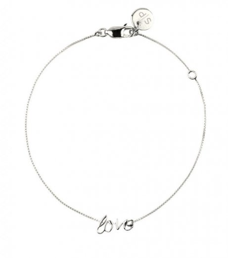 Syster p armband silver love