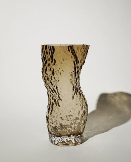 Hein Ostrea ROCK GLASS Vase / smoke