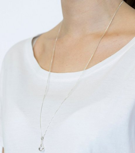 Syster p tied necklace silver