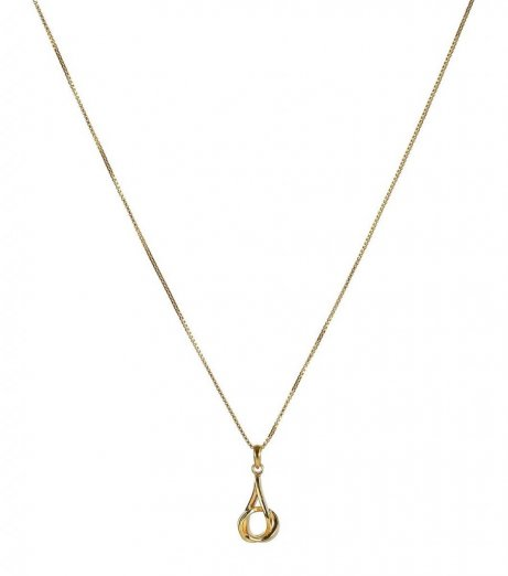 Syster p halsband tied gold