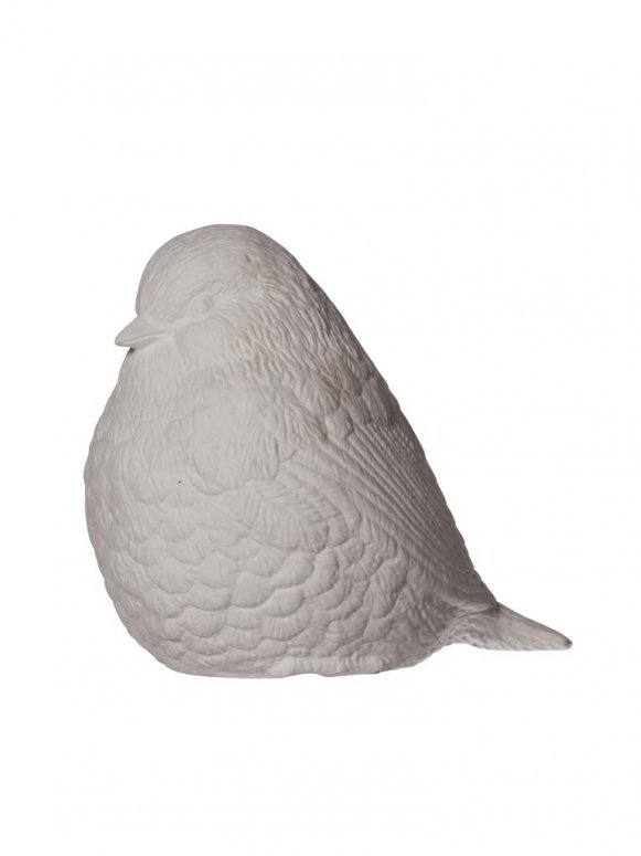 Porcelain bird lamp