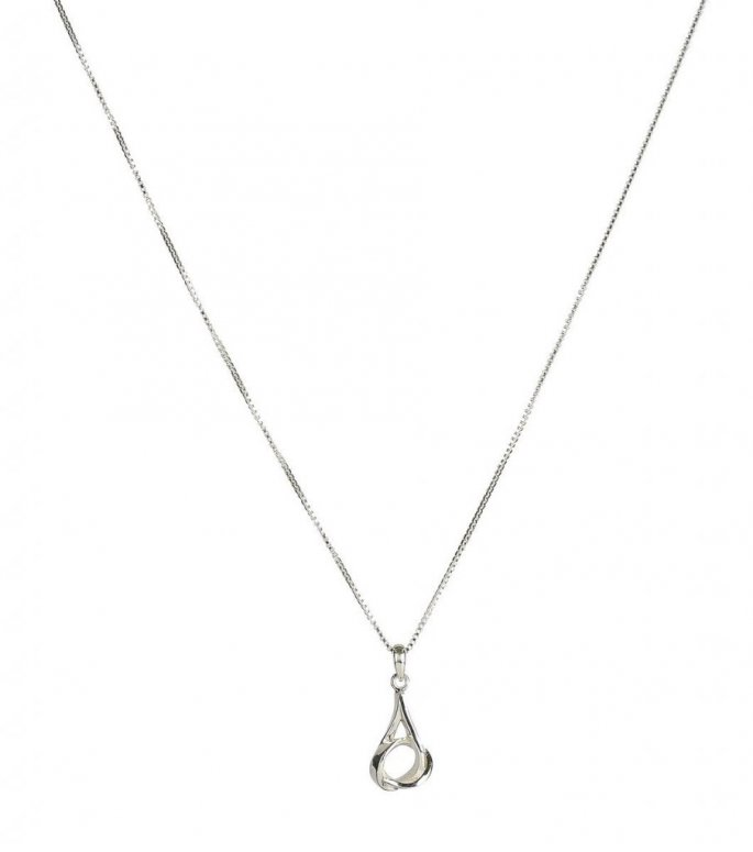 Syster p halsband tied silver
